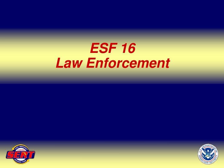 ESF 16