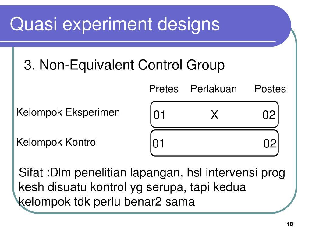 66 Ide Desain Penelitian Nonequivalent Control Group Paling Keren Download Gratis