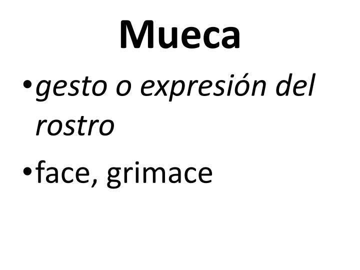 Mueca