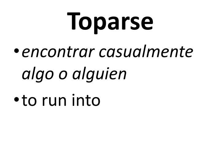 Toparse