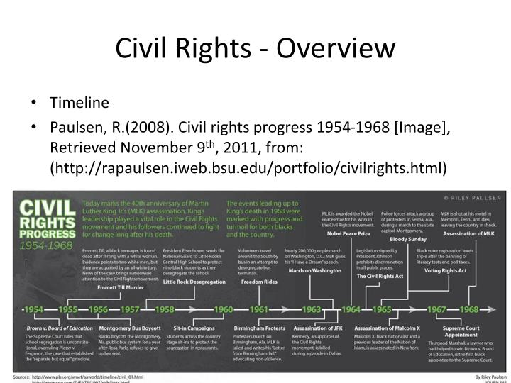 civil rights overview n.