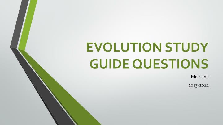 natural selection evolution study guide Evolution & natural selection chapter exam instructions choose your answers to the questions and click 'next' to see the next set of questions.