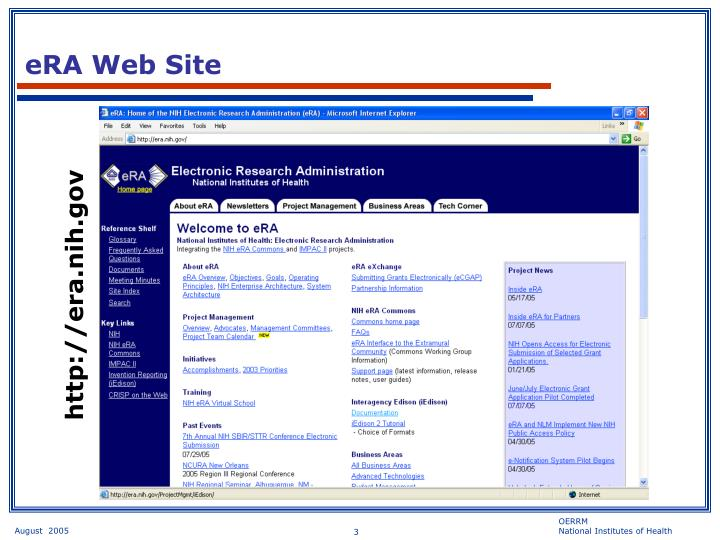 Era web site