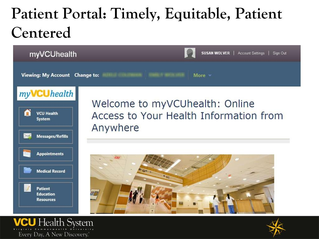 vcu health patient portal login