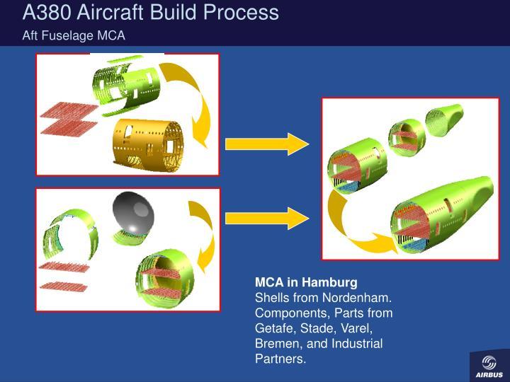 A380 Aircraft Build Process