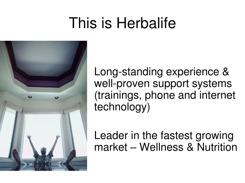 PPT - Why Herbalife The Wellness Industry Network Marketing