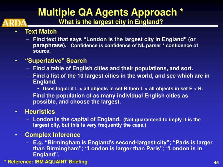 Multiple QA Agents Approach *