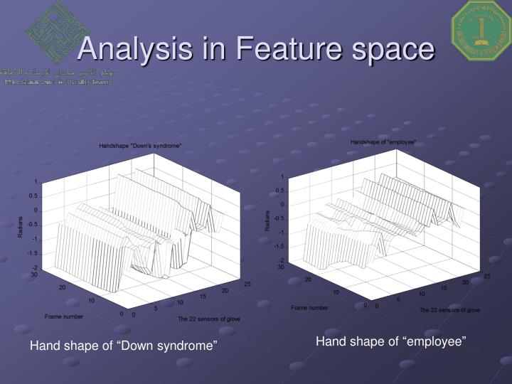 Analysis in Feature space