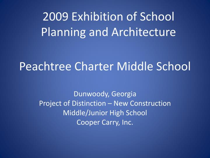peachtree charter middle school n.