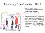 preventing disenfranchised grief