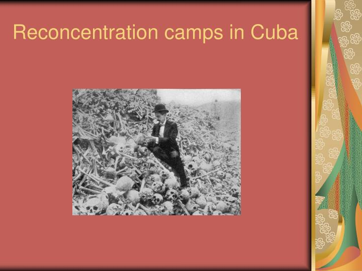 Reconcentration camps in Cuba