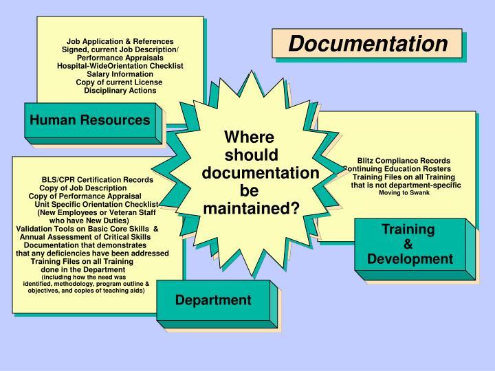 Job Application & References
