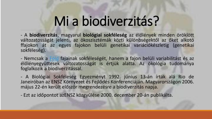 Mi a biodiverzit s1