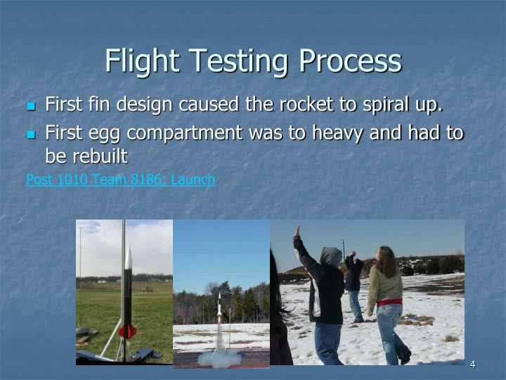 Flight Testing Process