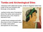 tombs and archeological sites