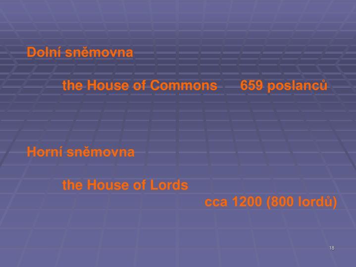 Dolní sněmovna