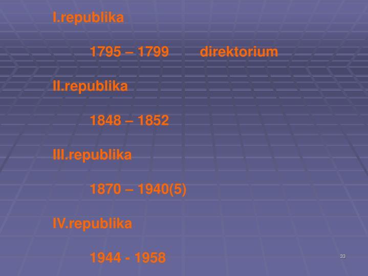 I.republika