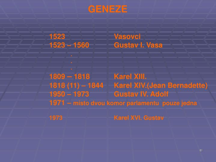 GENEZE