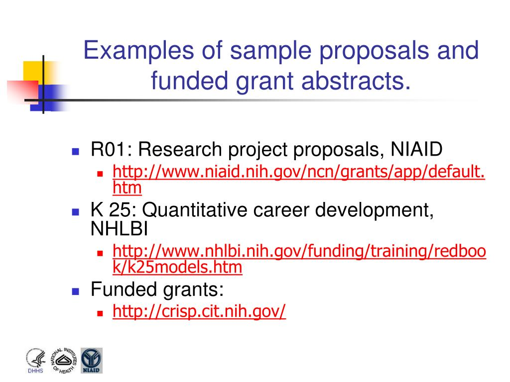 PPT - NIH Grant Mechanisms and Funding Process PowerPoint