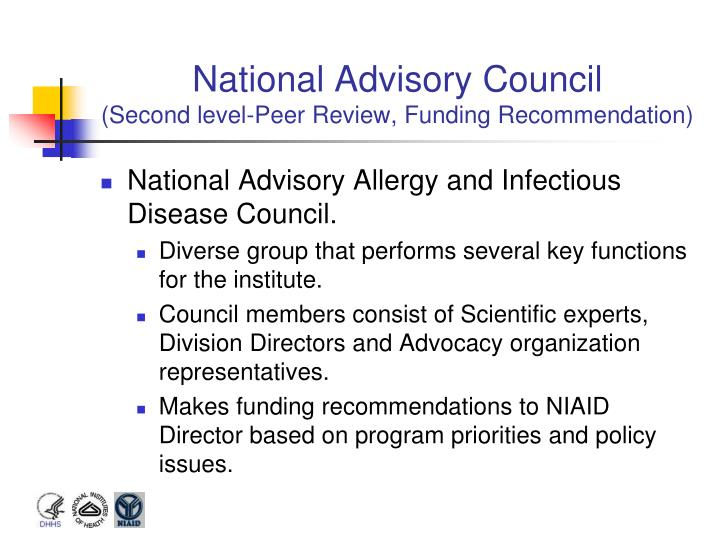 National Advisory Council