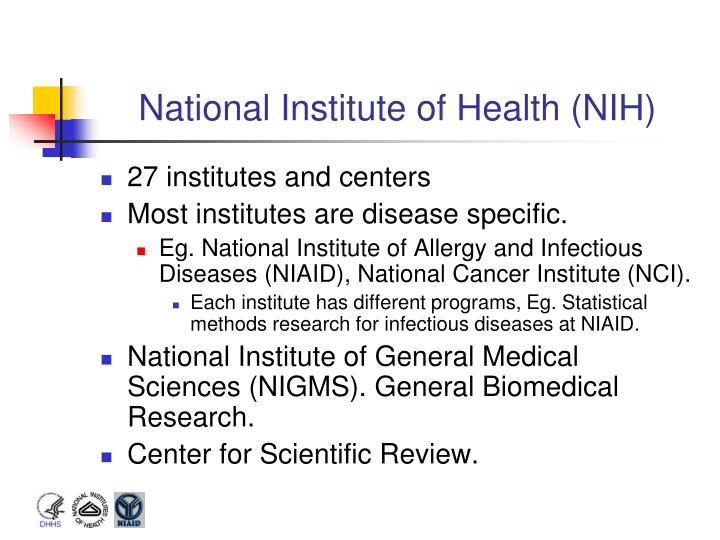 National institute of health nih