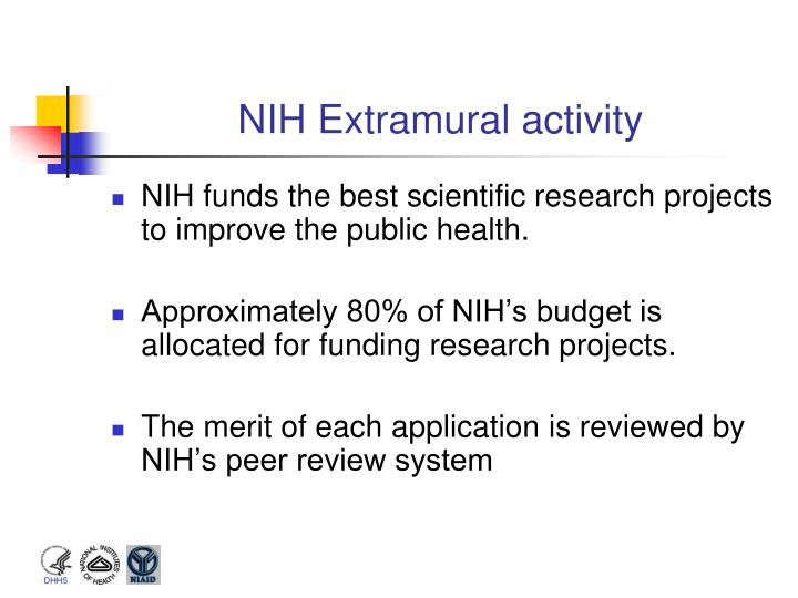 NIH Extramural activity