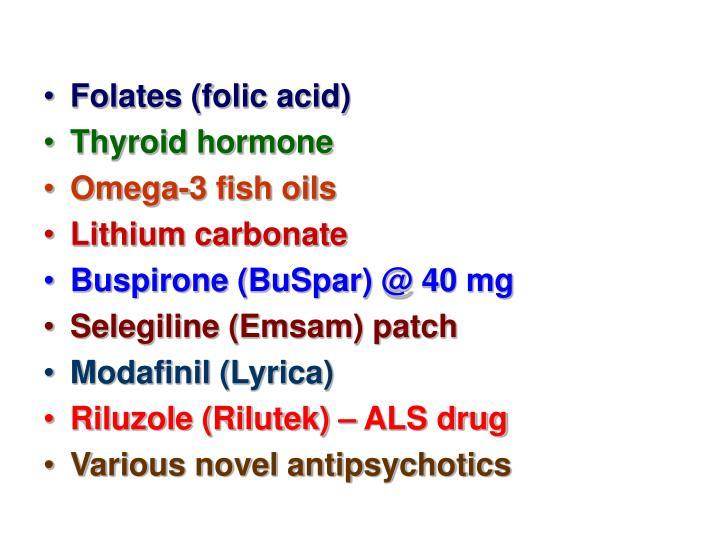 Folates (folic acid)