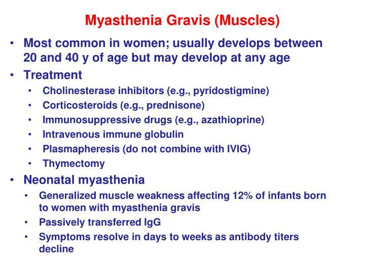 Myasthenia Gravis (Muscles)