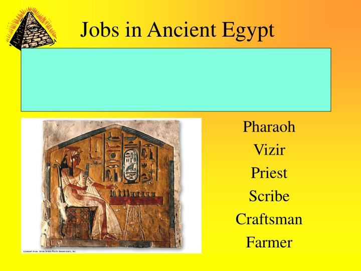jobs in ancient egypt n.