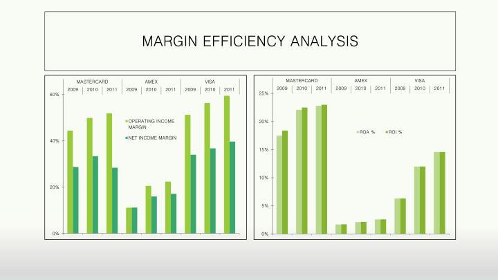 MARGIN EFFICIENCY ANALYSIS