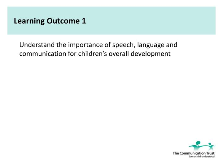 support childrens speech language and communication 2 essay