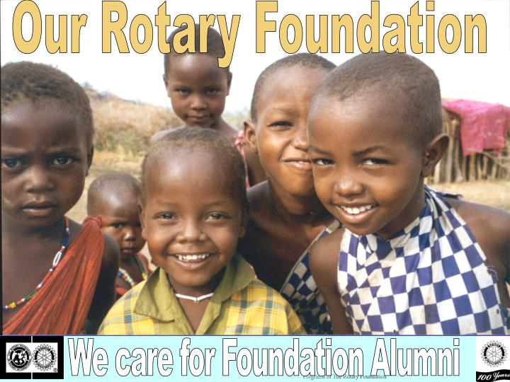 programs of the rotary foundation n.