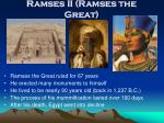 ramses ii ramses the great