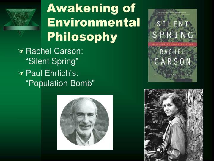 Awakening of Environmental Philosophy