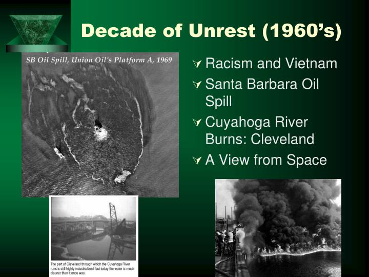Decade of Unrest (1960's)