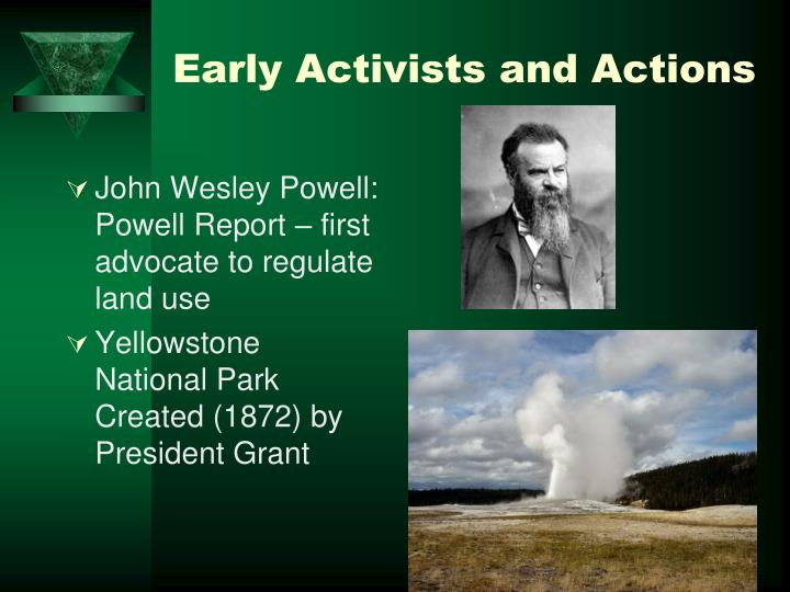 Early Activists and Actions