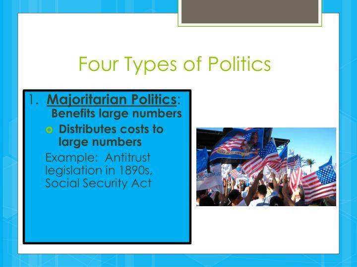 Four Types of Politics
