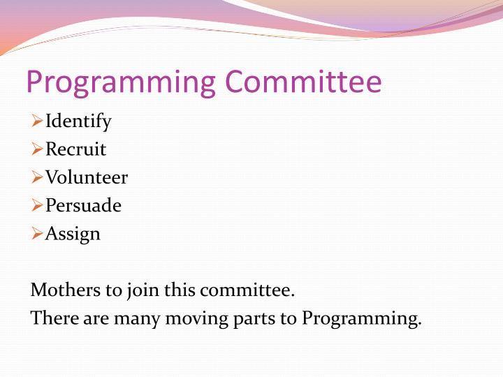 Programming Committee