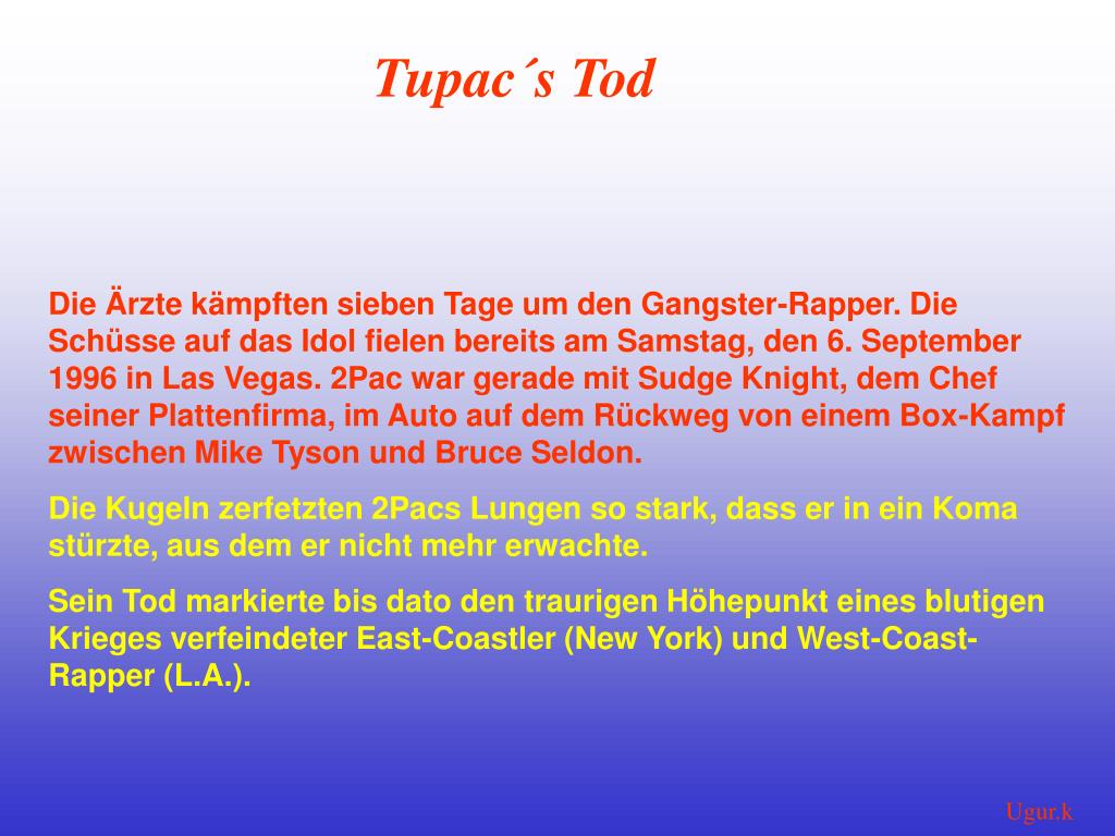 PPT - 2Pac PowerPoint Presentation - ID:3644131