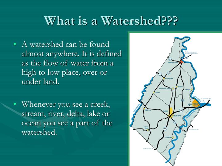 what is a watershed n.