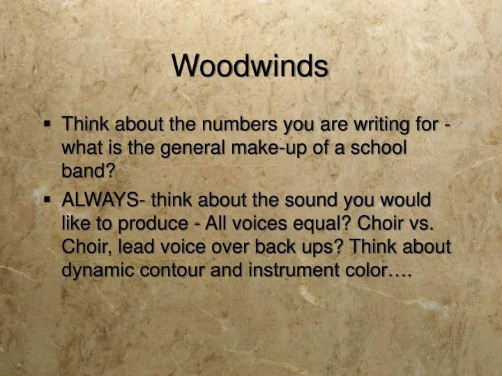 Woodwinds