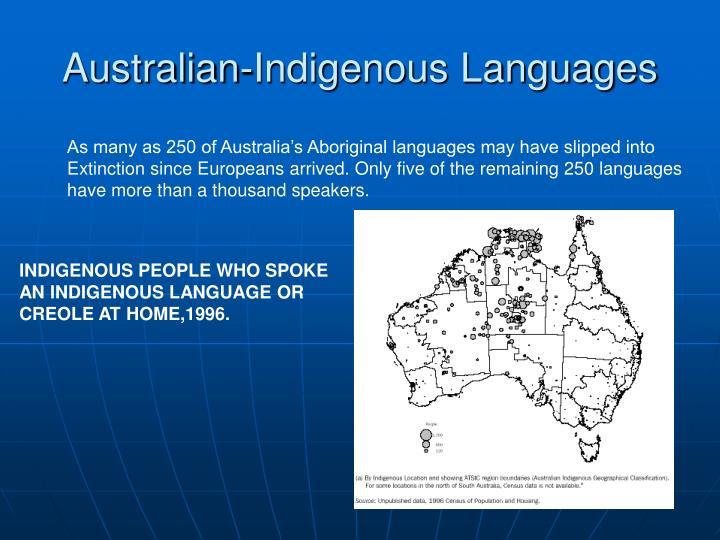 Australian-Indigenous Languages