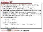 answer 5 6