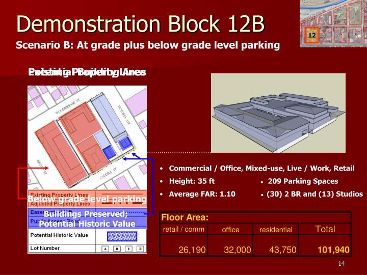 Demonstration Block 12B