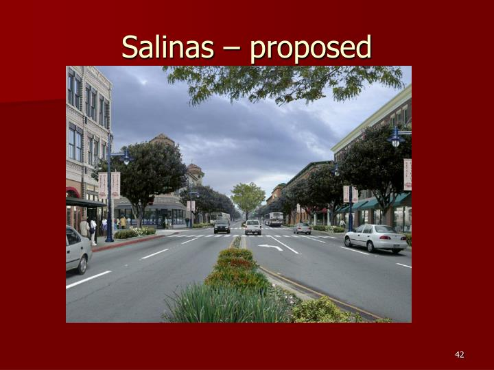 Salinas – proposed