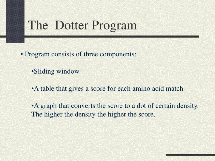 The  Dotter Program