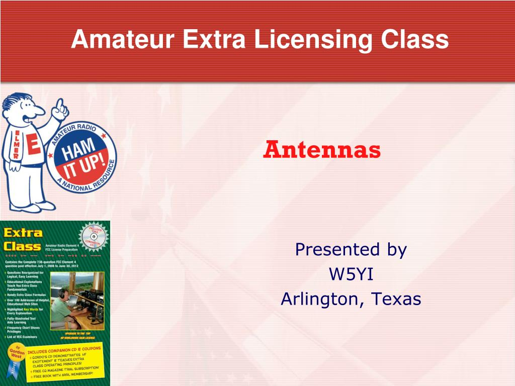 Amateur licensing
