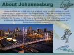 about johannesburg