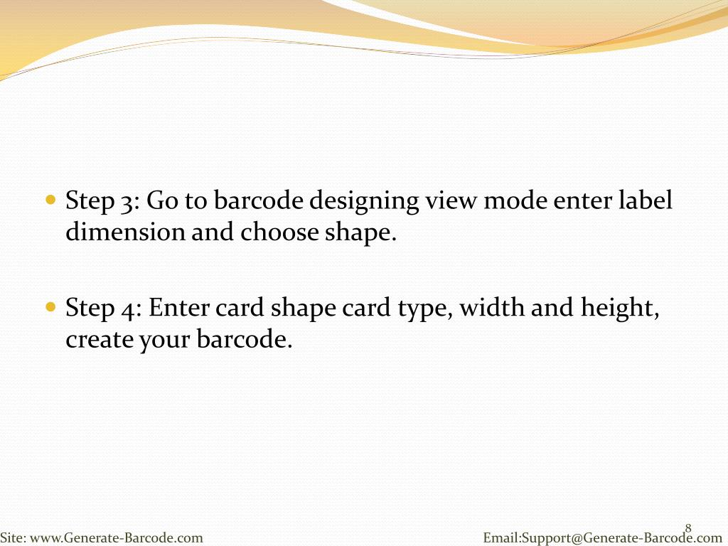PPT - Design Barcode with PDF 417 font by using DRPU Barcode Tool