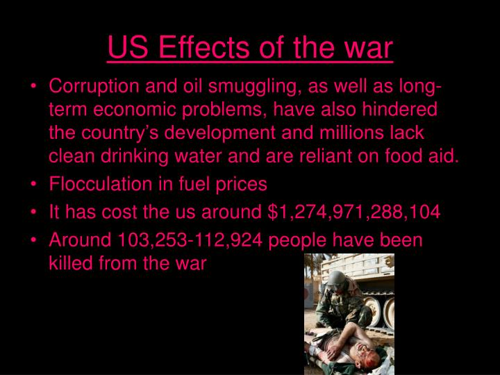 Us effects of the war